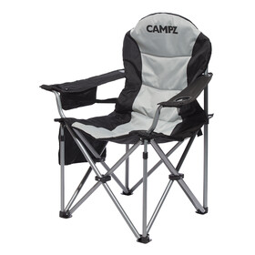 CAMPZ Deluxe Camp Stool grey/black